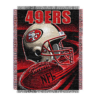 San Francisco 49ers Logo Throw