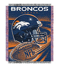 Denver Broncos Logo Throw