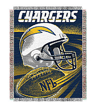 San Diego Chargers Logo Throw