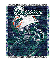 Miami Dolphins Logo Throw