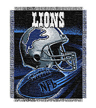 Detroit Lions Logo Throw