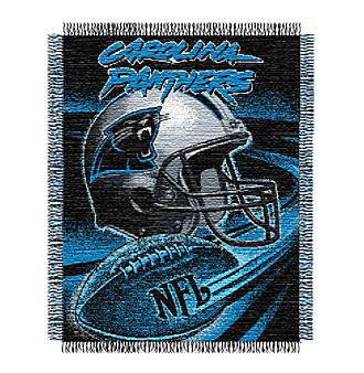 Carolina Panthers Logo Throw