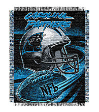 Carolina Panthers Logo Throw