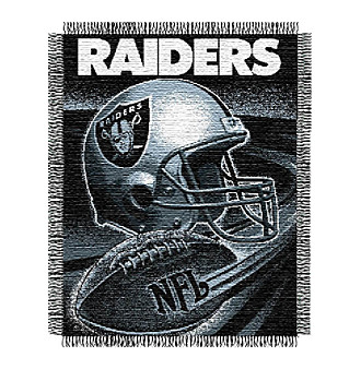 Oakland Raiders Logo Throw