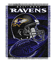 Baltimore Ravens Logo Throw