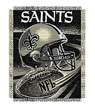 New Orleans Saints Logo Throw