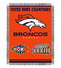 Denver Broncos Commemorative Throw