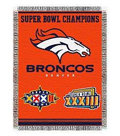 NFL® Denver Broncos Commemorative Throw
