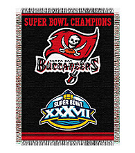 Tampa Bay Buccaneers Commemorative Throw