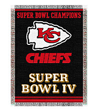 Kansas City Chiefs Commemorative Throw