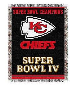 NFL® Kansas City Chiefs Commemorative Throw