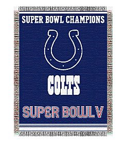 NFL® Baltimore Colts Commemorative Throw