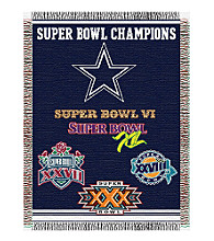 Dallas Cowboys Commemorative Throw