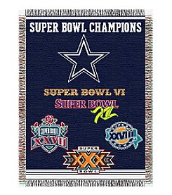NFL® Dallas Cowboys Commemorative Throw
