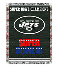 New York Jets Commemorative Throw
