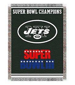 NFL® New York Jets Commemorative Throw