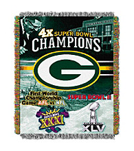 Green Bay Packers Commemorative Throw