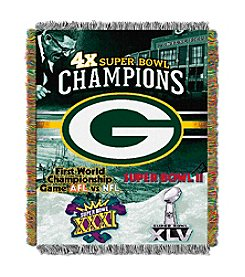 Northwest Company NFL® Green Bay Packers Commemorative Throw