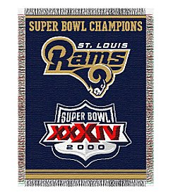 NFL® St. Louis Rams Commemorative Throw