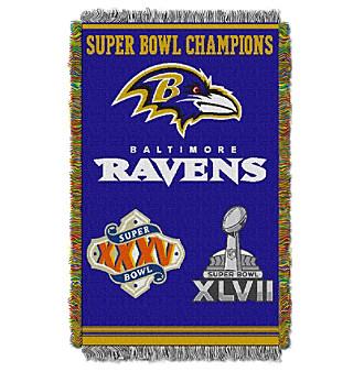 Baltimore Ravens Commemorative Throw