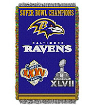 Baltimore Ravens Commemorative Throw