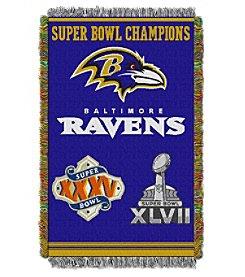 NFL® Baltimore Ravens Commemorative Throw