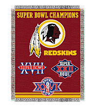 Washington Redskins Commemorative Throw