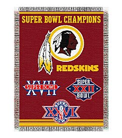 NFL® Washington Redskins Commemorative Throw