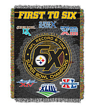 Pittsburgh Steelers Commemorative Throw