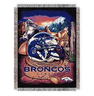 Denver Broncos Home Field Advantage Throw
