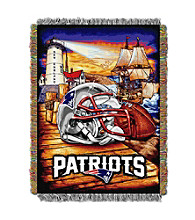 New England Patriots Home Field Advantage Throw