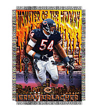 Chicago Bears Brian Urlacher Player Throw