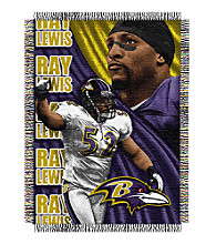 Baltimore Ravens Ray Lewis Player Throw