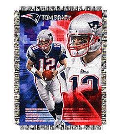 NFL® New England Patriots Tom Brady Player Throw