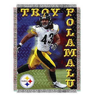 Pittsburgh Steelers Troy Polamalu Player Throw