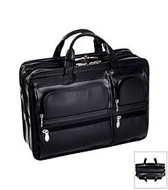 McKlein P Series Hubbard Double Compartment Laptop Case