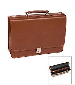 McKlein V Series Lexington Double Compartment Briefcase