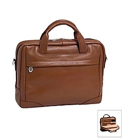 McKlein S Series Montclare Small Leather Laptop Briefcase