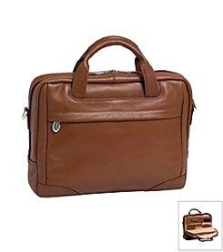McKlein S Series Montclare Small Leather Laptop Briefcase