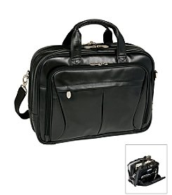 McKlein R Series Pearson Expandable Double Compartment Briefcase