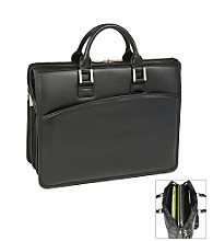 McKlein I Series Ravenswood Triple Compartment Laptop Case in Black