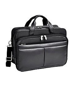 McKlein R Series Walton Expandable Double Compartment Laptop Case