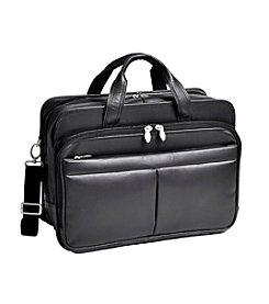 McKlein R Series Walton Expandable Double Compartment Laptop Case