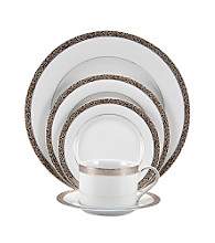Nikko Platinum Filigree 5-Piece Place Setting