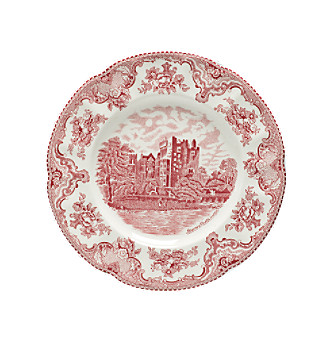 Johnson Brothers Old Britain Castles Pink Dinner Plate