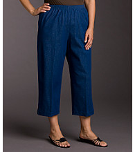 Alfred Dunner® Plus Size Capri Pants - Denim