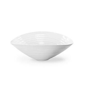 "Sophie Conran for Portmeirion® White 9 1/2"" Small Salad Bowl"