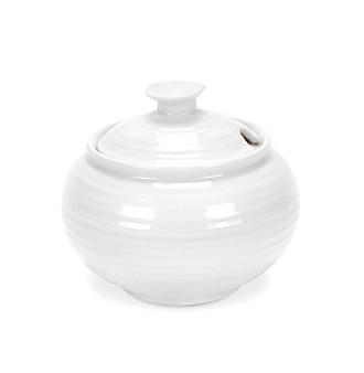 Sophie Conran for Portmeirion® White 11-oz. Covered Sugar Bowl