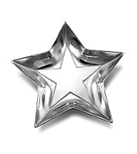 Wilton Armetale® Stars Collection - Shallow Bowl
