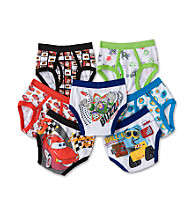 Disney® Boys' 2T & 4T Multi 7-pk. Pixar Briefs